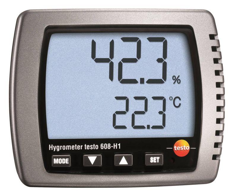 탁상용 온습도계 testo 608-H1